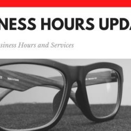 Covid-19 Business Services & Hours Updates